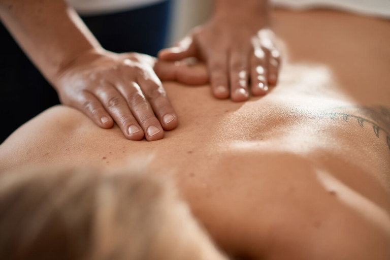 Physiotherapie Herford - Santner - Leistungen - Massage