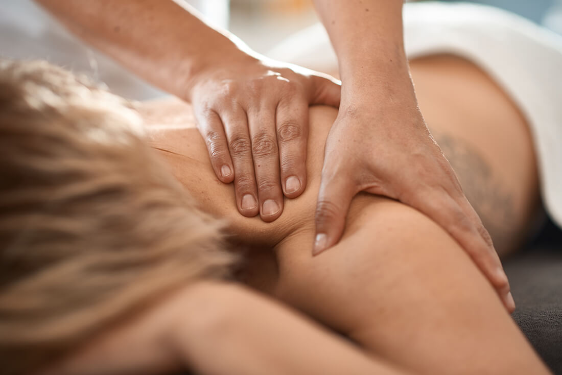 Physiotherapie Herford - Santner - Leistungen - Massage