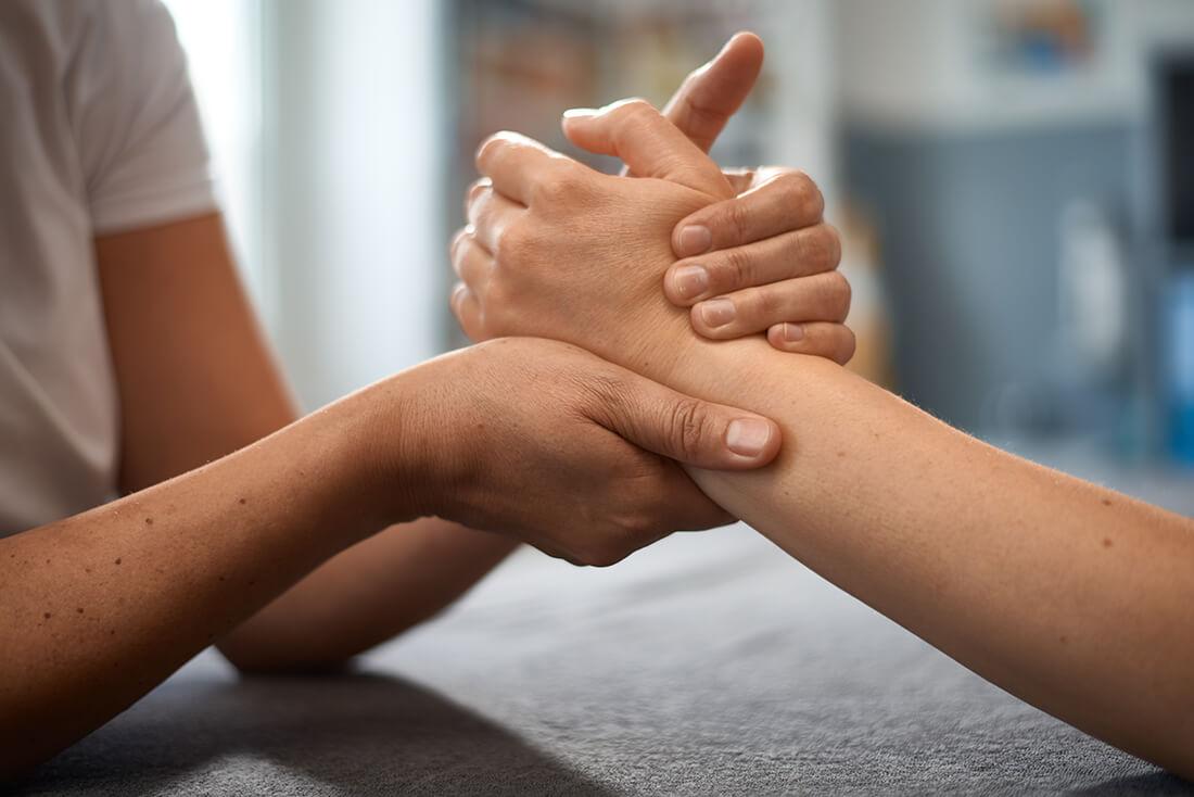 Physiotherapie Herford - Santner - Leistungen - Handtherapie
