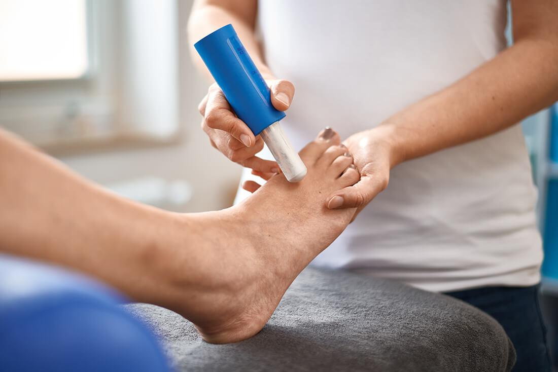 Physiotherapie Herford - Santner - Leistungen - Fango, Heißluft, Eis