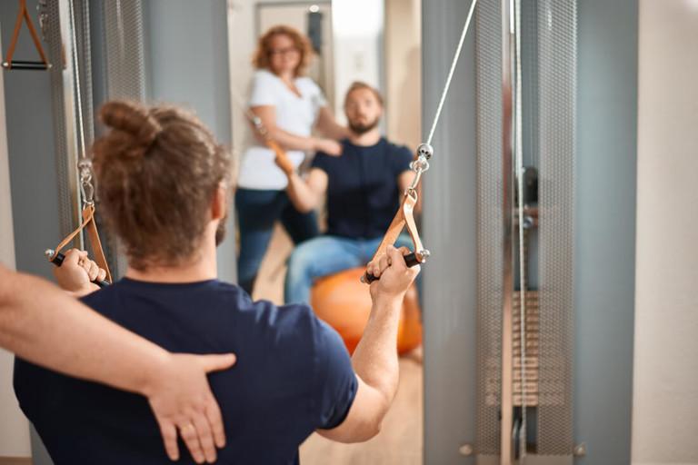 Physiotherapie Herford - Santner - Leistungen - Krankengymnastik