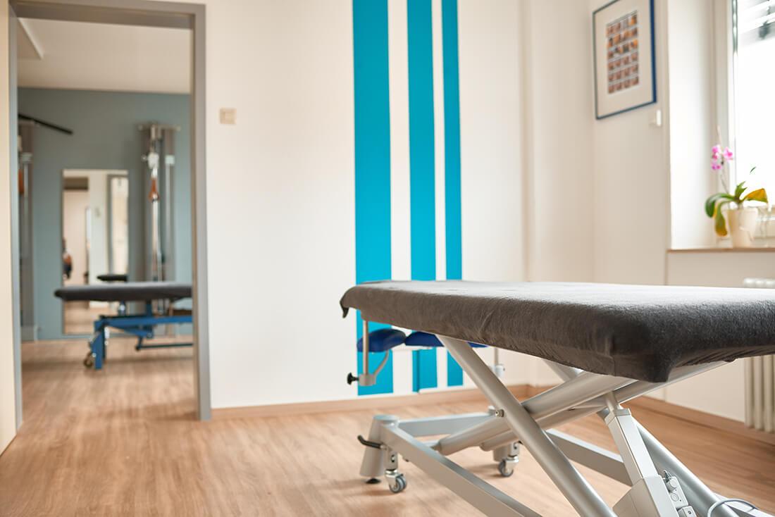 Physiotherapie Herford - Santner - Leistungen - Liege